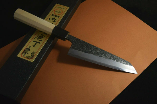 Japanese Chef Knives Ikyu by Itsuo Doi Aogami Blue 2 Garasuki 150-180mm *F/S*(2020120108)