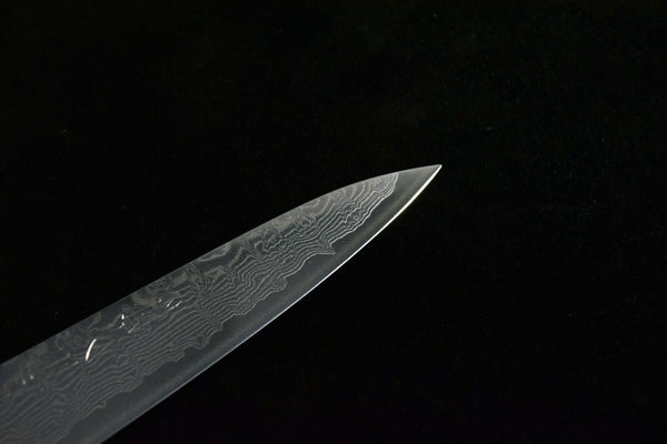 Japanese Chef knife Okina Tadanori SLD Warikomi 67 Damasucus Petty 150mm Y8 (2020090908)
