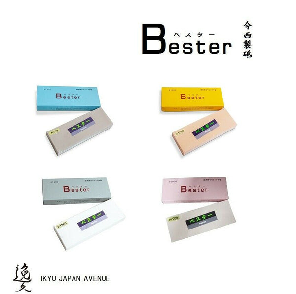 Japanese BESTER Super Ceramic Whetstone Grit 700-2000 Imanishi long seller *F/S*