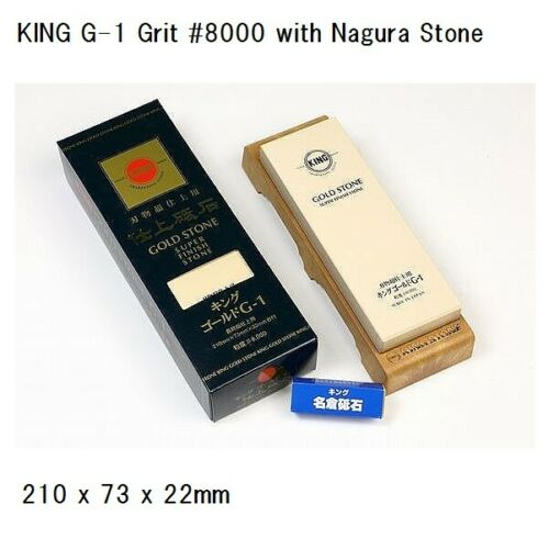 Japanese KING Finishing Whetstone S-1 / S-2 / S-3 / G-1 / F-3 from Japan *F/S*