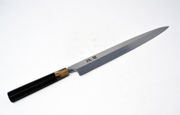 【Suisin】 Honyaki INOX Steel Yanagiba Chef knife 330mm ebony from Sakai *F/S*