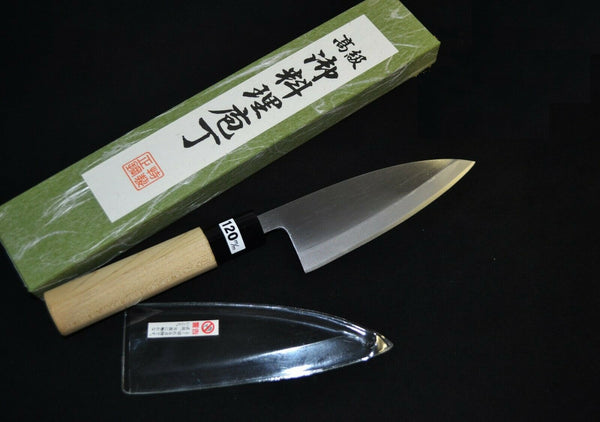 Japanese Kitchen / Chef knives  Made in Sakai Ajikiri 120mm from Japan F/S