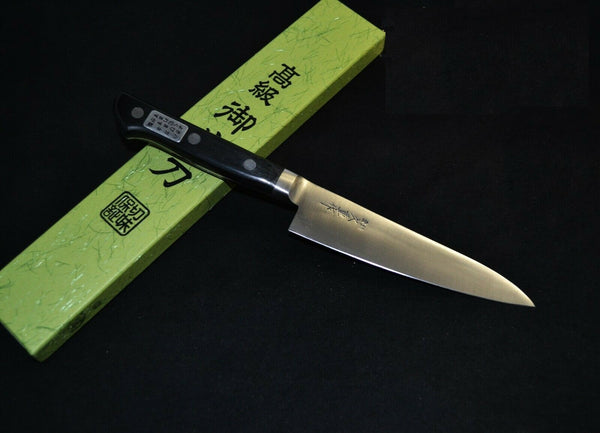 Japanese Kitchen / Chef knives Hisashige SK Steel Petty 125mm with Bolster from Japan F/S