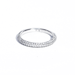 Micro Pavé Diamond Wedding Ring