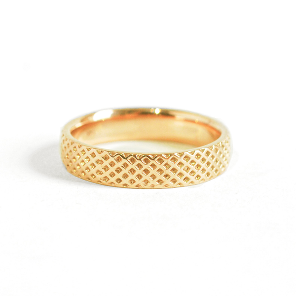 Honeycomb Wedding Ring