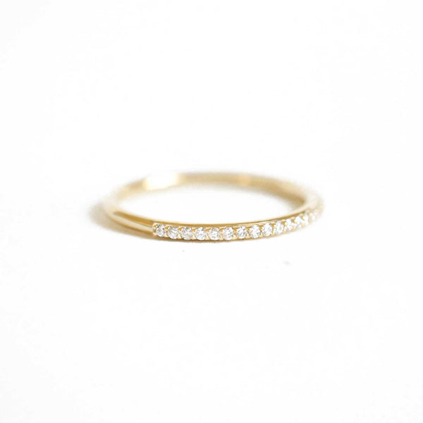 Squared Engraved Wedding Band