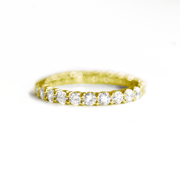 Shared Prong Diamond Eternity Ring 1.65 ctw.