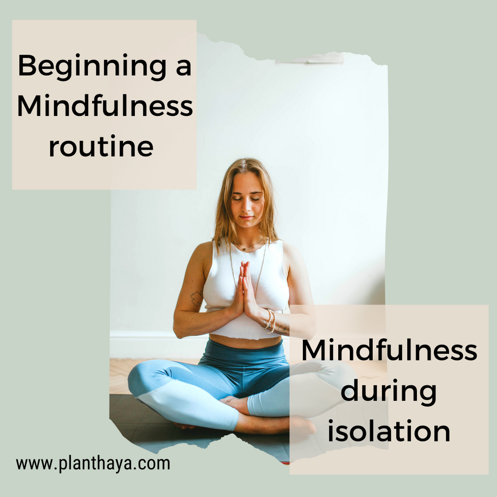 Beginning a Mindfulness routine | Mindfulness during isolation.