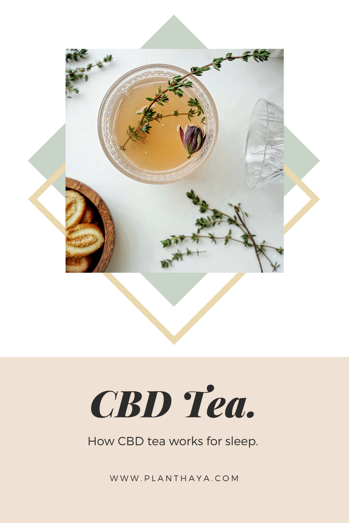 CBD & Sleep | CBD Tea and getting a good nights sleep