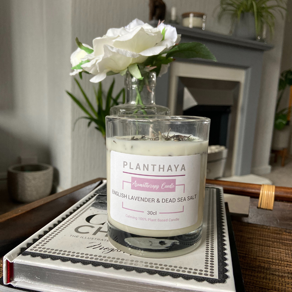 English Lavender & Dead Sea Salt Aromatherapy Candle 30cl