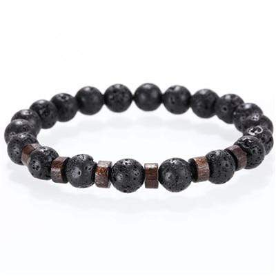 Bracciale Uomo Lava Stone - One Best Choice