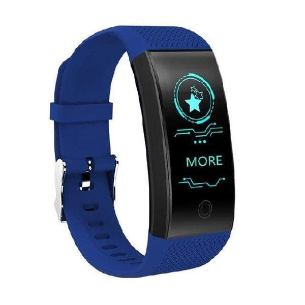 One Best Choice Technology Blu Screen Smart Bracelet Heart Rate Monitor IP68 Waterproof Fitness Tracker Band Bluetooth 4.0 Sports Wristbands