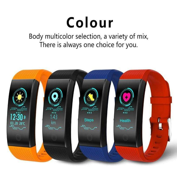 One Best Choice Technology Screen Smart Bracelet Heart Rate Monitor IP68 Waterproof Fitness Tracker Band Bluetooth 4.0 Sports Wristbands