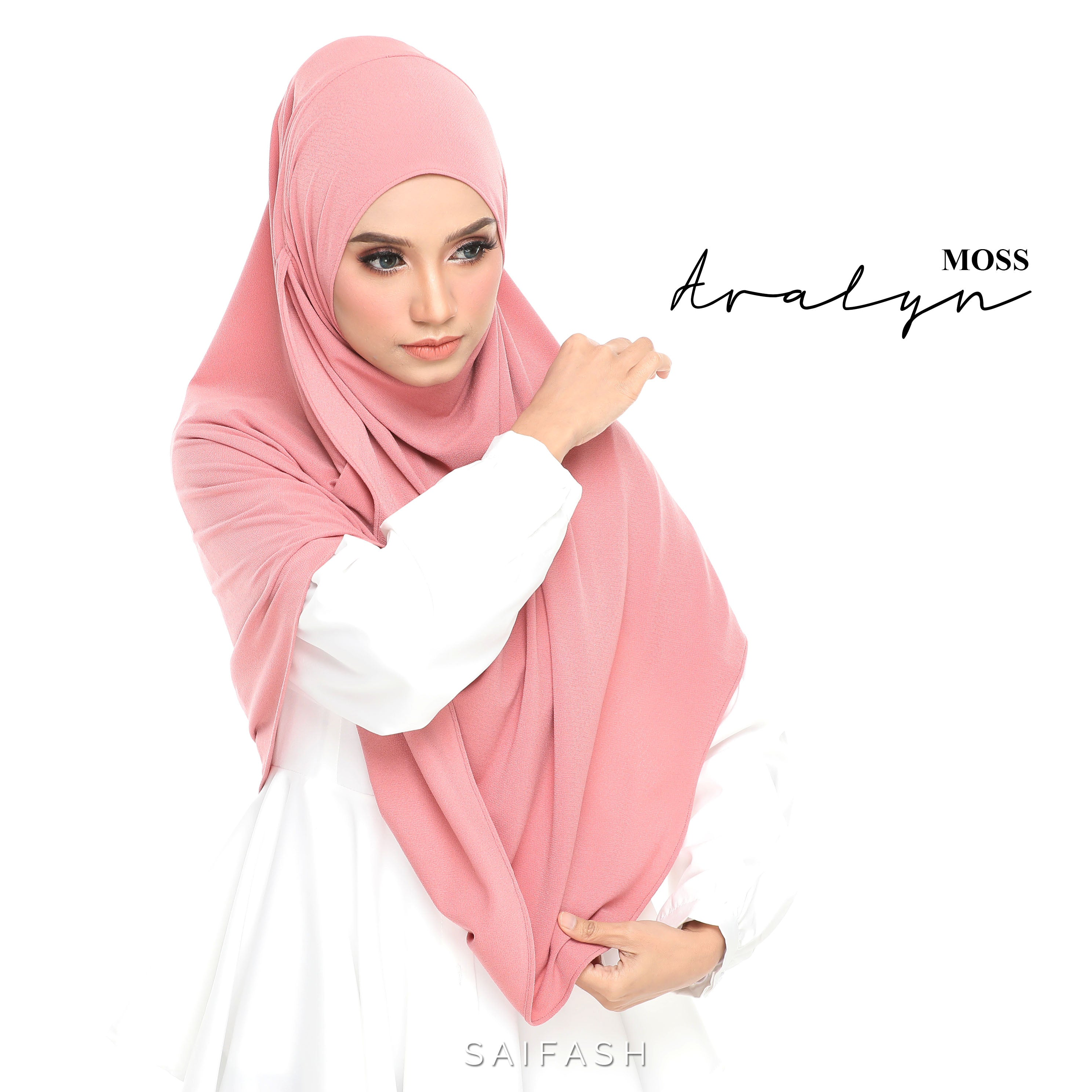 Aralyn Moss Instant Shawl By Saifash