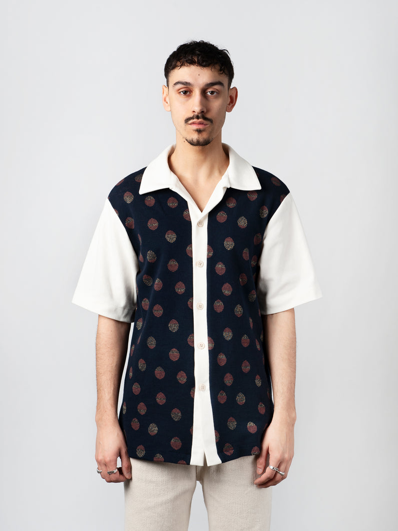Dots Short Sleeve Shirt - Carnal Apparel