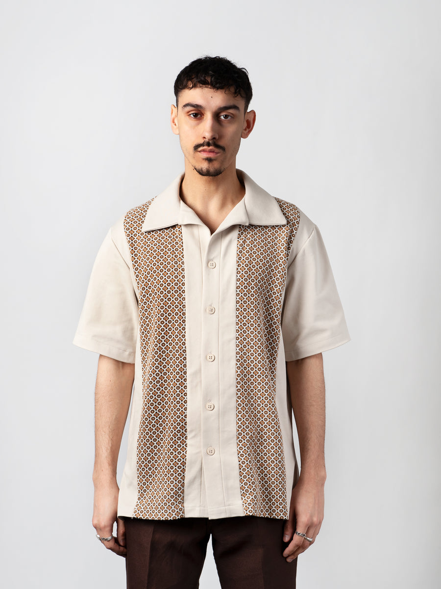 Stripes Short Sleeve Shirt - CARNAL APPAREL