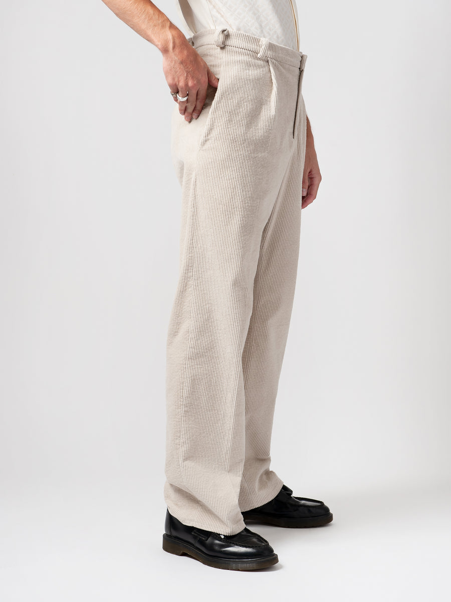 Wide Leg Manchester Trousers - Carnal Apparel