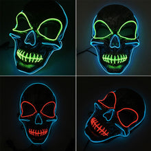 Load image into Gallery viewer, LED Skull Mask (3 Colors)