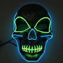 Load image into Gallery viewer, LED Skull Mask
