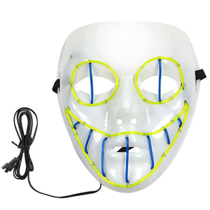 LED Creepy Clown Mask (3 Colors)