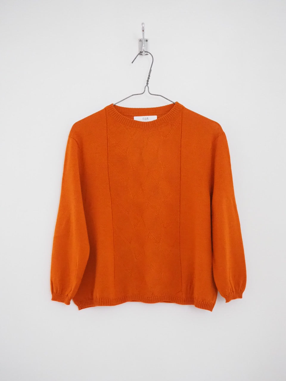 Edith Jumper - Burnt orange
