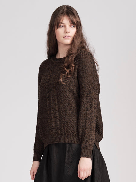 Willoughby Jumper- Black Pepper + Moor