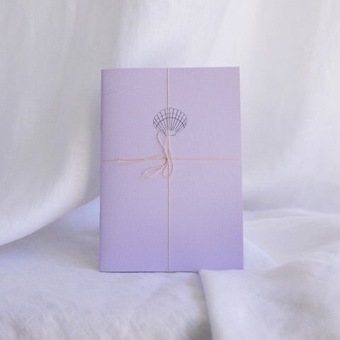 Hydrangea Ranger Hue Journal -lilac + sea shell