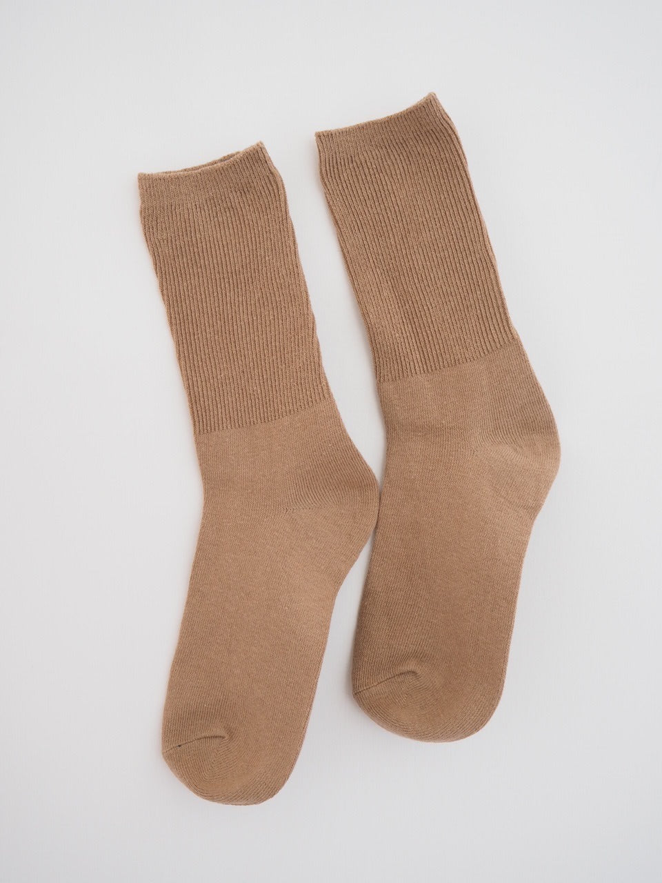S O K K E N  Ribbed socks - Maple