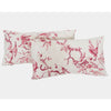 Print Collection - Red and White Parrot Pillows
