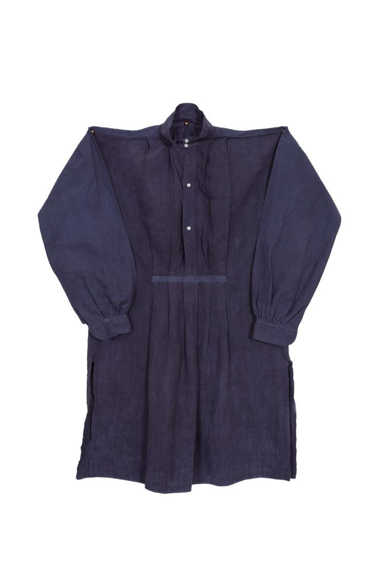 French Workman's Shirt -  Indigo