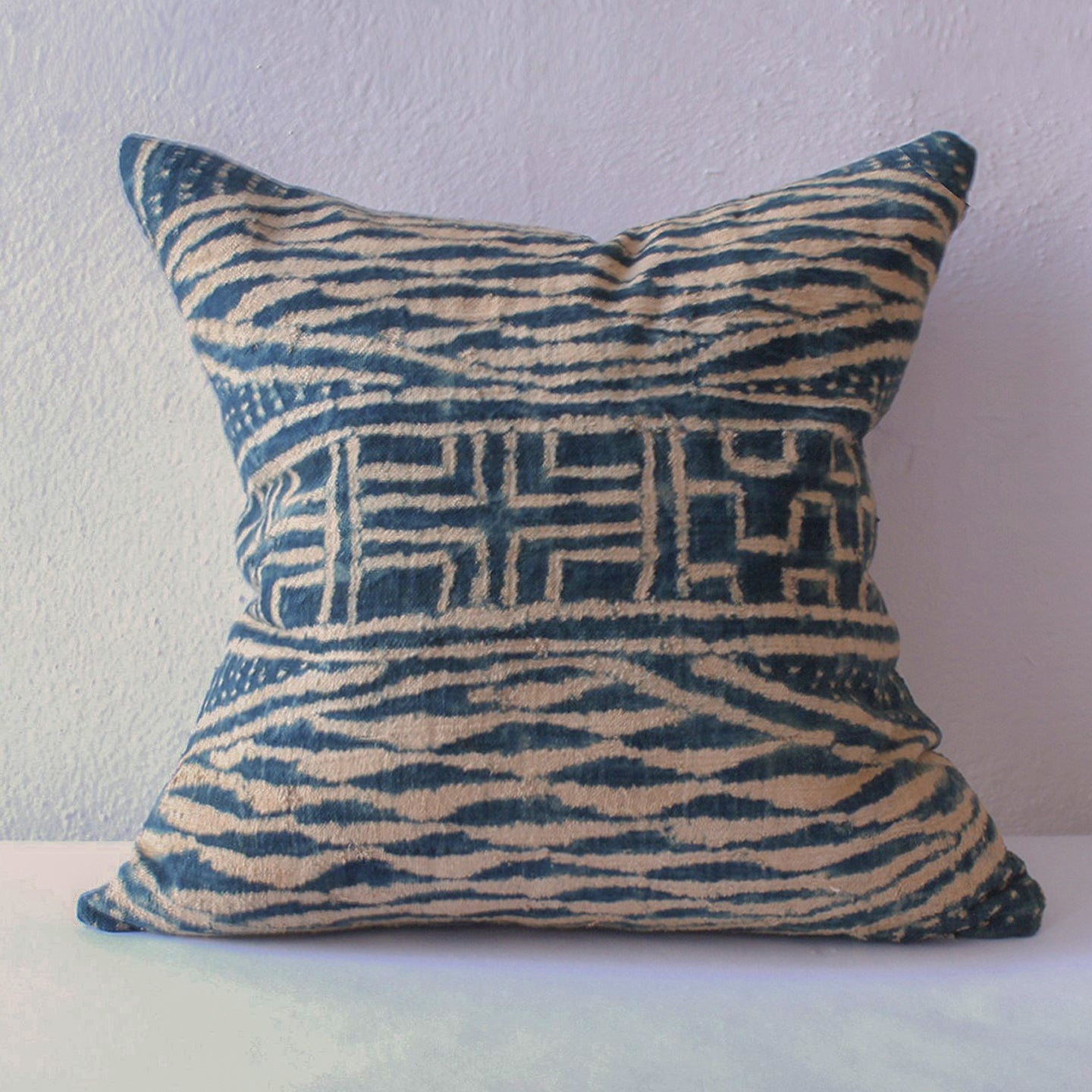 Indigo, Ndop Indigo Pillow
