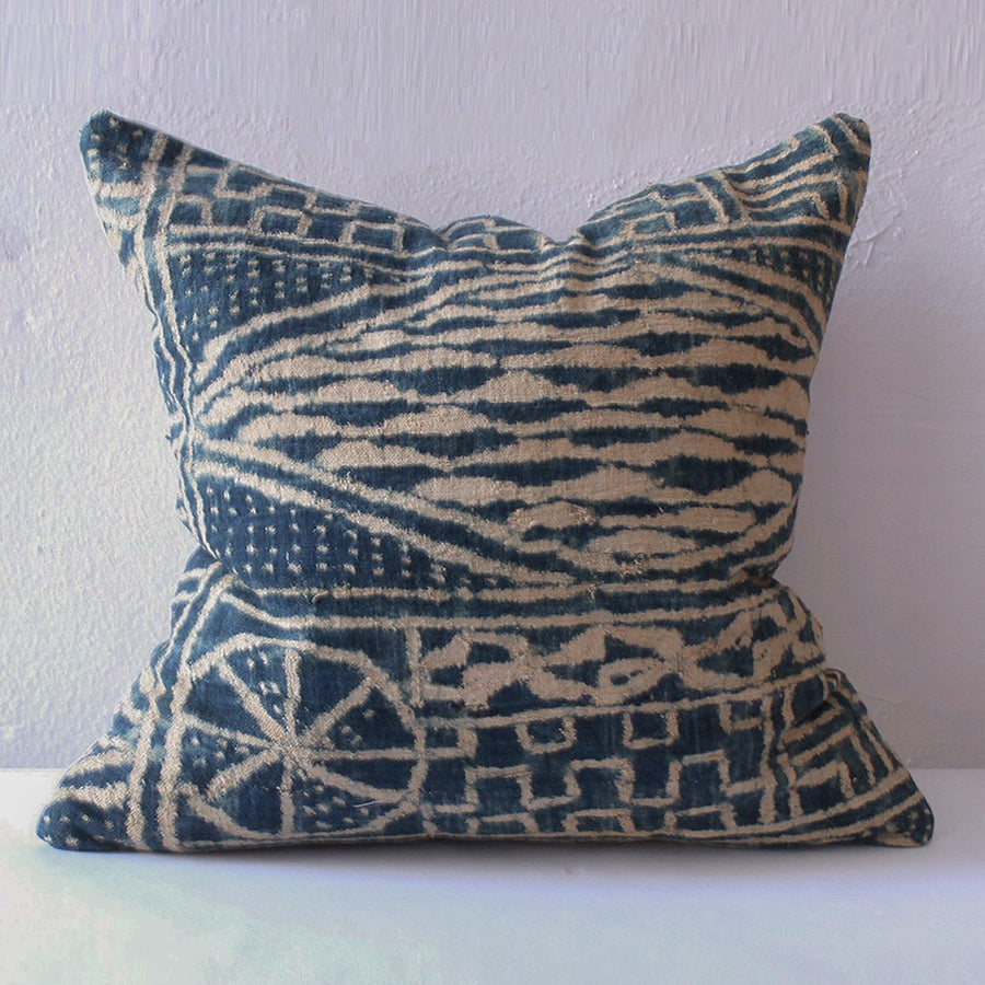 Eve Pillow - Ndop Bamileke Indigo