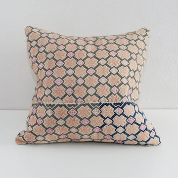 Dowry Pillow Collection Pillow - Zhuang Tan and Grey