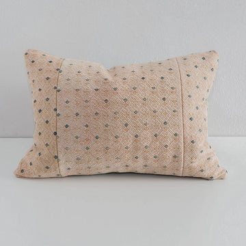 Dowry Pillow Collection- Miao Pillow in Pale Peach