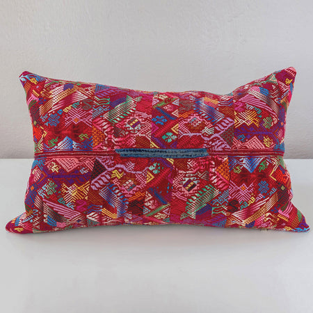 Hand-Loomed Collection Pillows - Red