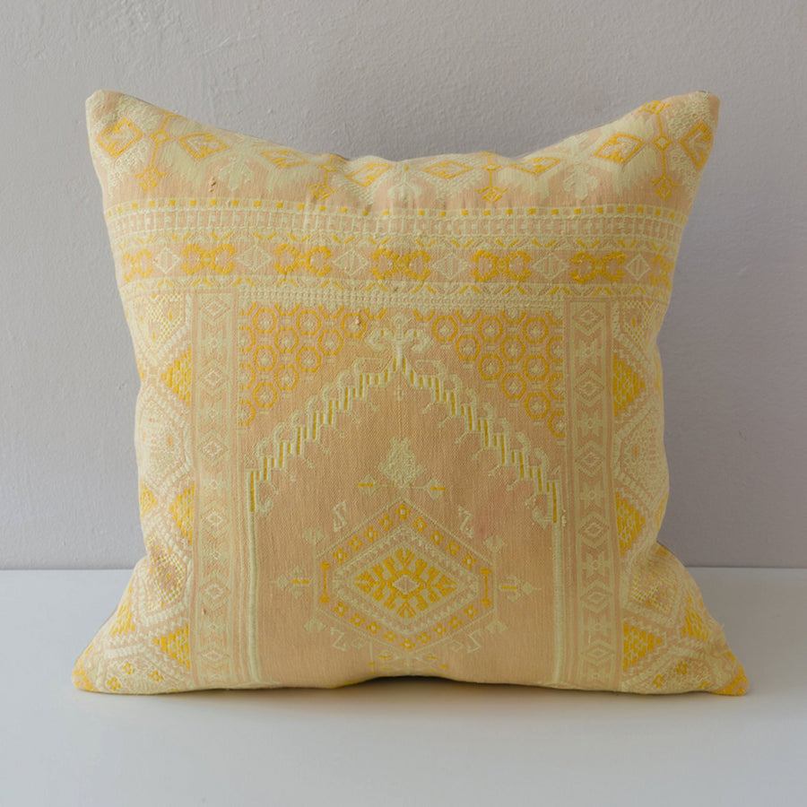 Bokhara Pillow - Yellow - Pair