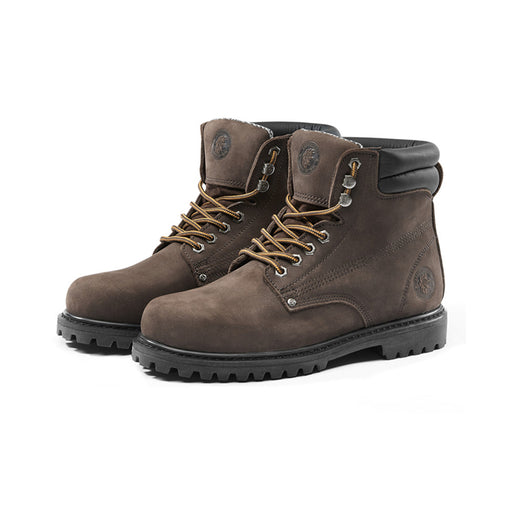 ROCKROOSTER 6 inch Leather Work Boots, Safety Boots, Steel Toe, AP9954 - Rock Rooster Footwear Inc