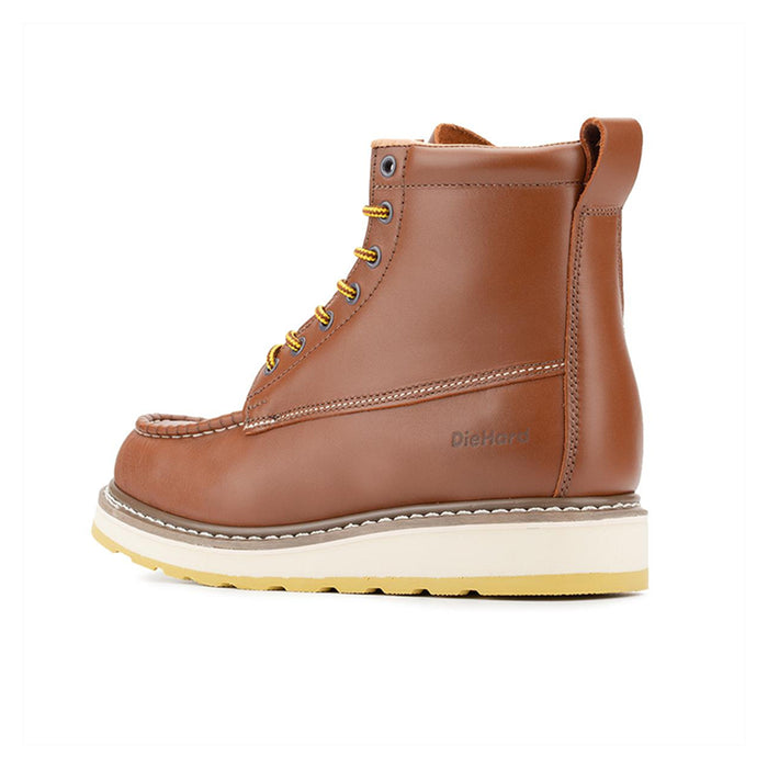 DieHard SureTrack 6 inch Soft Toe Brown Wedge sole Work Boots Model 84994 - Rock Rooster Footwear Inc