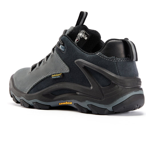Gray 4 inch men's waterproof hiking shoes KS 253 - Rock Rooster Footwear Inc
