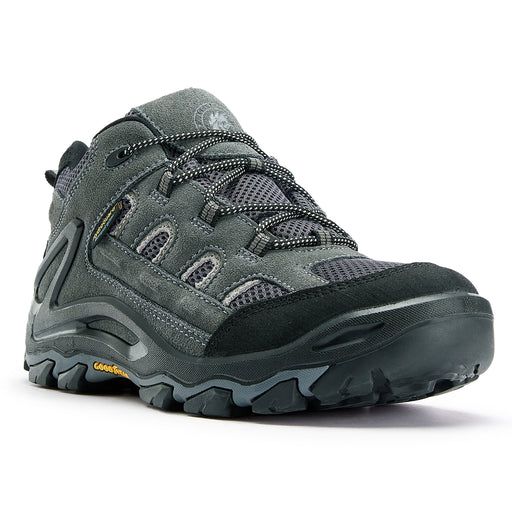 Gray 4 Inch Waterproof Hiking Shoes KS 5514 - Rock Rooster Footwear Inc