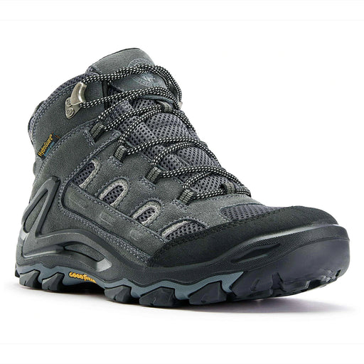 Gray 6 inch Waterproof Hiking Shoes KS 5516 - Rock Rooster Footwear Inc