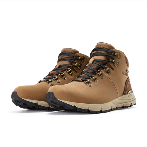 Brown 6 inch Crazy Horse Leather Vibram®Hiking Boots RockRooster VK6253 - Rock Rooster Footwear Inc