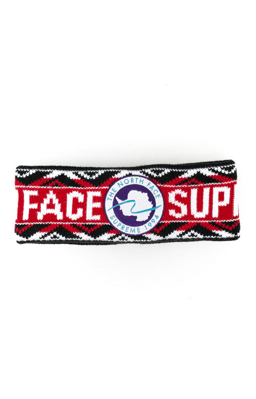 Supreme The North Face Trans Antarctica Expedition Headband Red