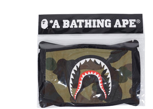 BAPE 1st Camo Shark Face Mask Green