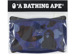 BAPE Color Camo Face Mask Blue