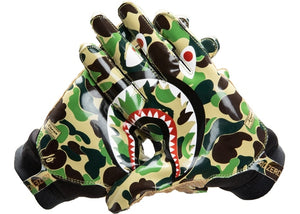 BAPE x Adidas Adizero 8.0 Gloves Green