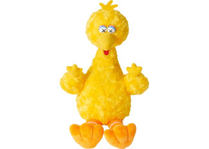 KAWS Sesame Street Uniqlo Big Bird Plush Toy