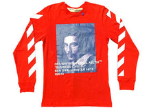 Load image into Gallery viewer, OFF-WHITE Bernini L/S Tee Red