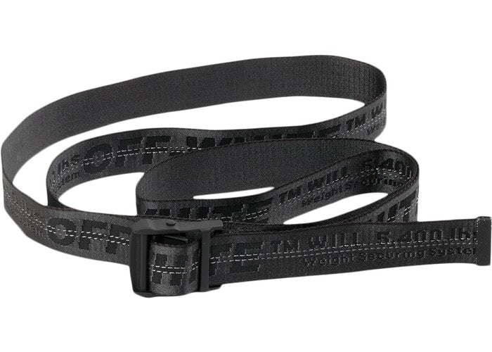 OFF-WHITE Industrial Belt (SS19) Black