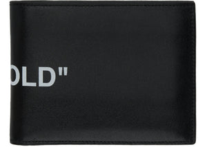 OFF-WHITE Quote Bifold Wallet